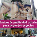 básicos de publicidad exterior para pequeños negocios